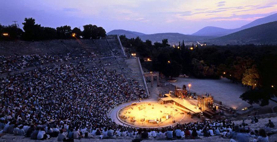 Εκδρομή για τις παραστάσεις στο Αρχαίο Θέατρο της Επιδαύρου